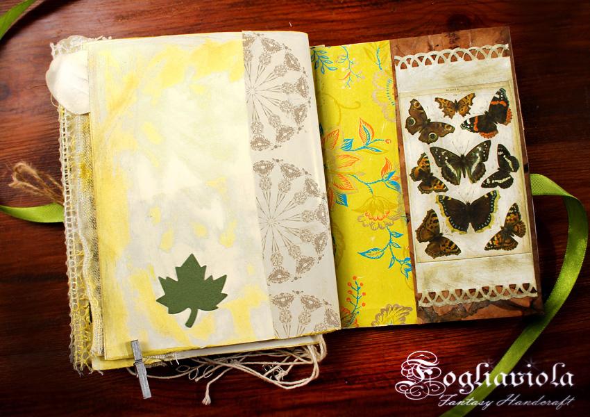 Diario farfalle e giardino