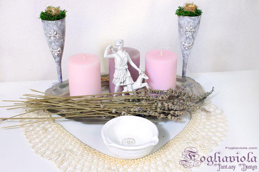 Ostara altar decor