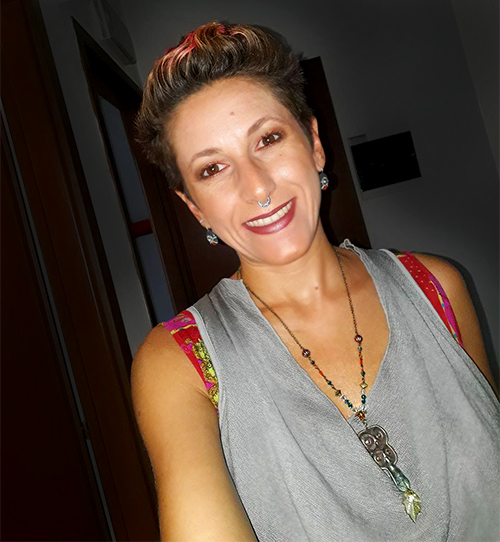 "Elisabetta indossa la collana ""Owl Totem"""