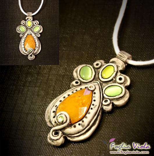 Resin Drop necklace