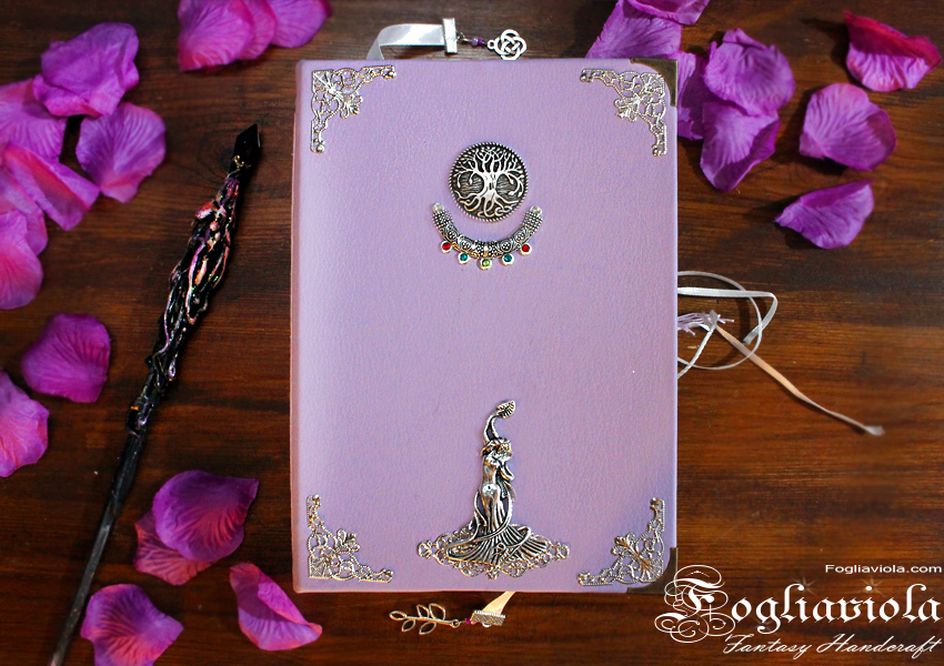 Purple Witch Grimoire