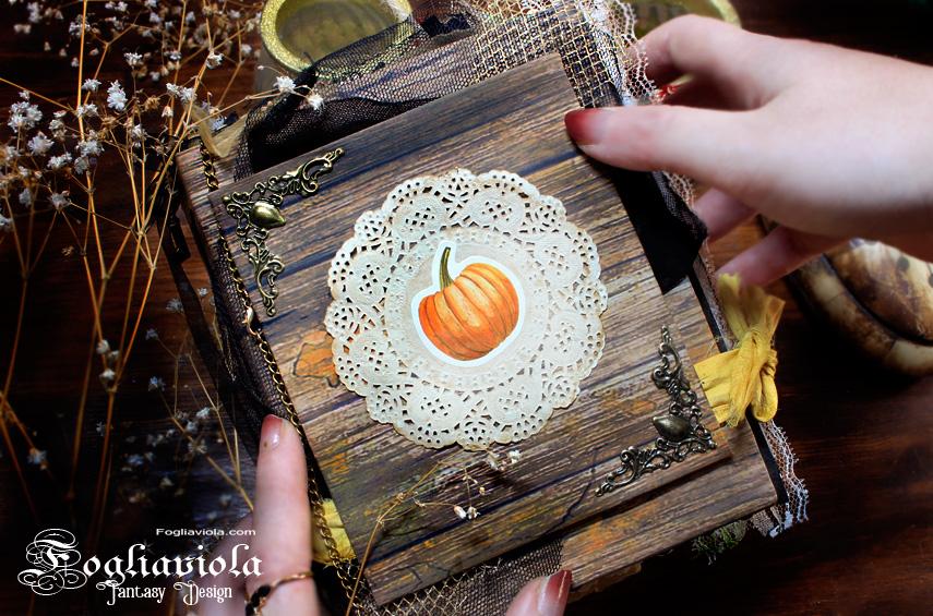 Enchanted Autumn Vibes Junk Journal