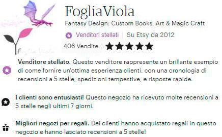 Migliore negozio di regali con recensioni positive in America e Italia. Venditore stellato di Etsy!