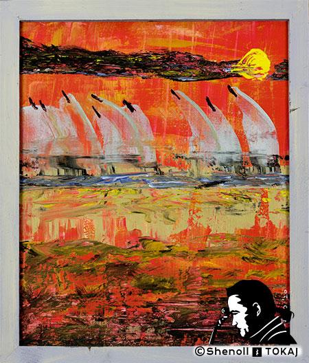 Malerei  von Shenoll Tokaj, Bild, Unikat Eckernförde, Copyright Shenoll Tokaj 2020