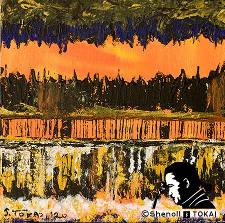 Malerei  von Shenoll Tokaj, Bild, Unikat Unterwelt, Copyright Shenoll Tokaj 2020