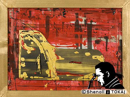 Malerei  von Shenoll Tokaj, Bild, Unikat Vergessenes Klavier, Copyright Shenoll Tokaj 2020