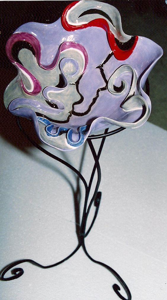 Femme fatale bowl lilac