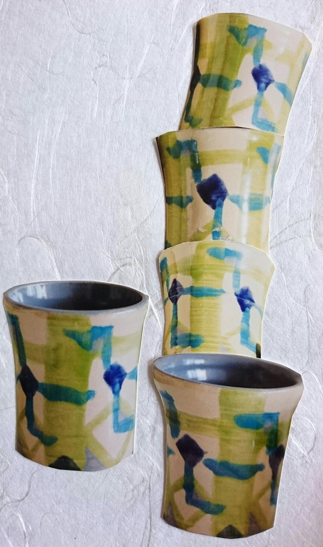 Set beakers