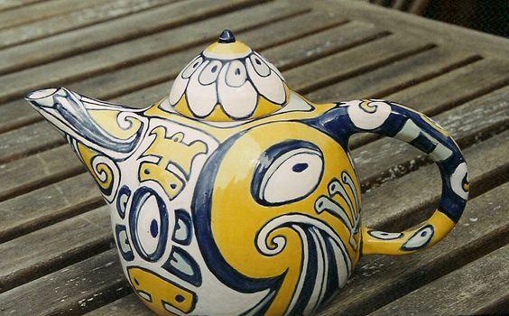 Teapot azuleijos