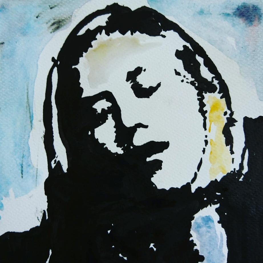 Fenne Kuppens, singer Whispering Sons
