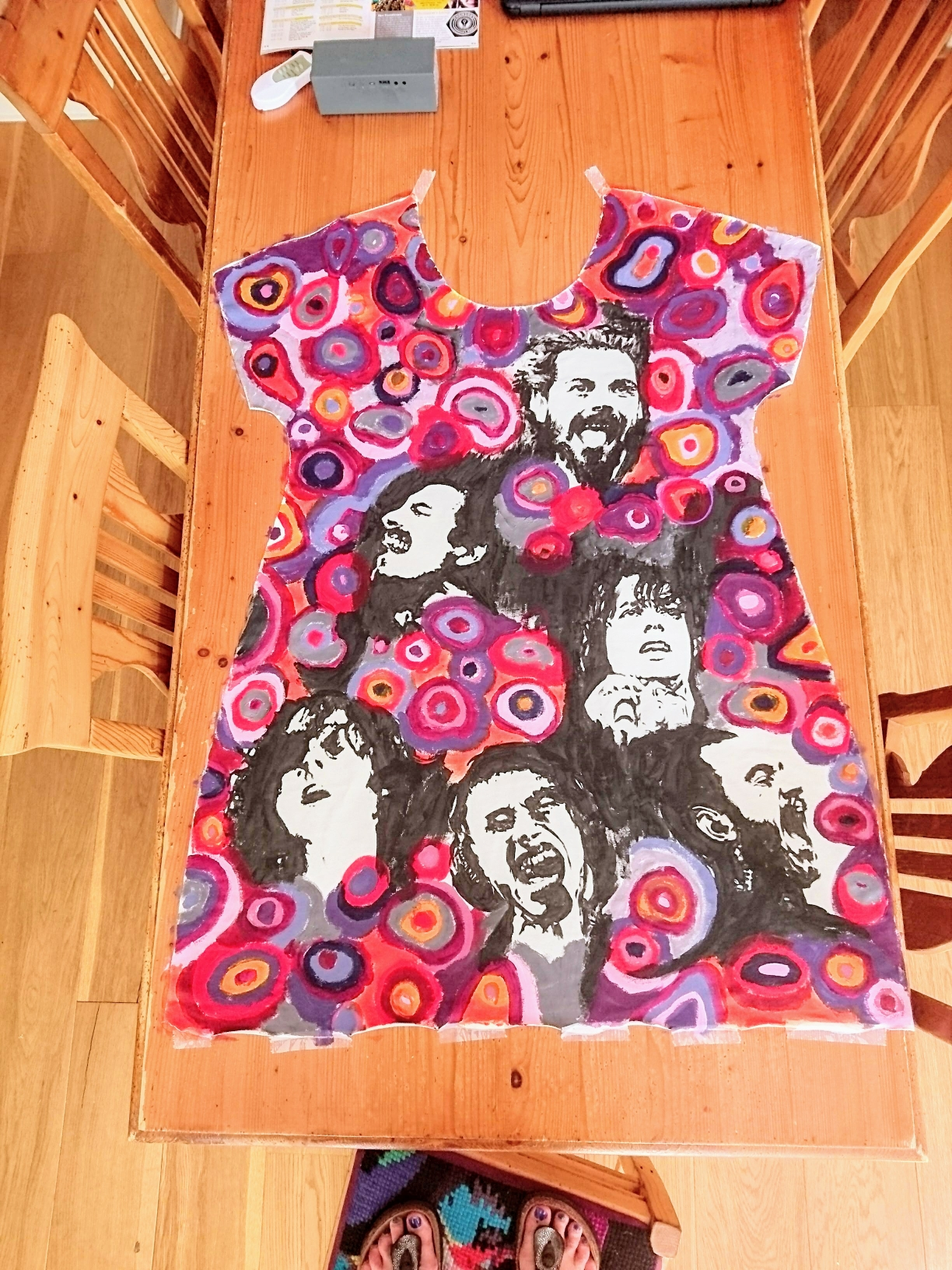 Textile Painting singers