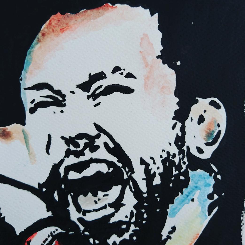 Tim McIlrath, singer Rise Against