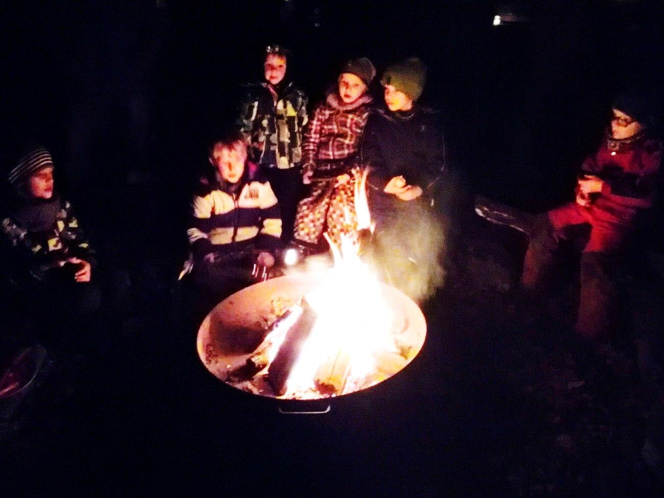 Jahresabschluss-Feuer 2016