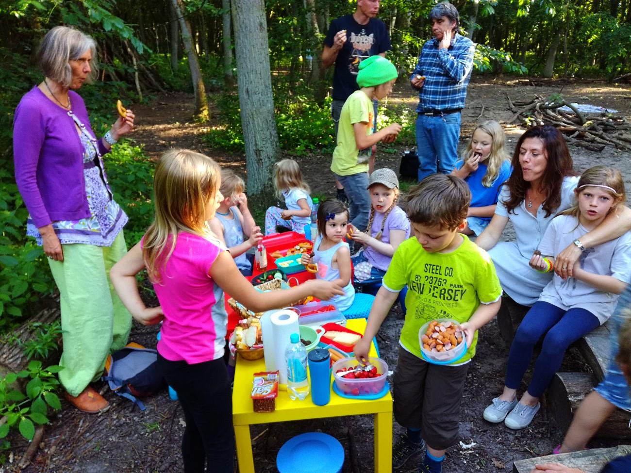 Eltern-Kind-Picknick