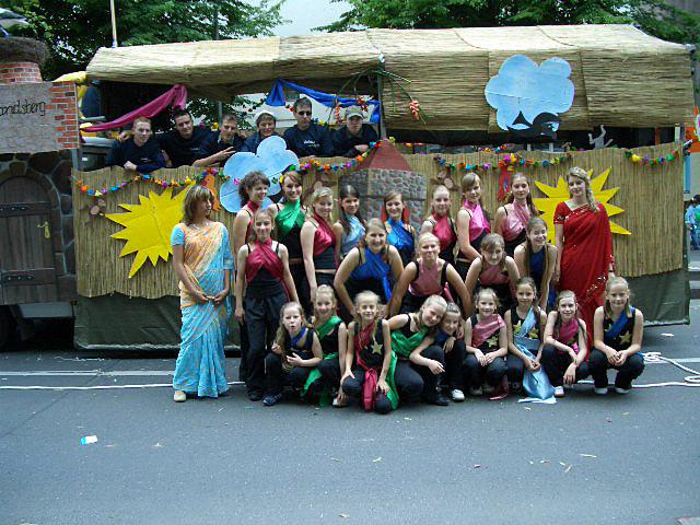 Karneval der Kulturen in Berlin 2004 / 2005 / 2006 / 2007