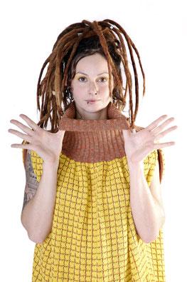 """Strickkleid """"Ananas"""" von maria stieger Strickdesign"""