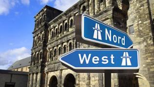 Sehr umstritten: Die West- und Nordumfahrung in Trier