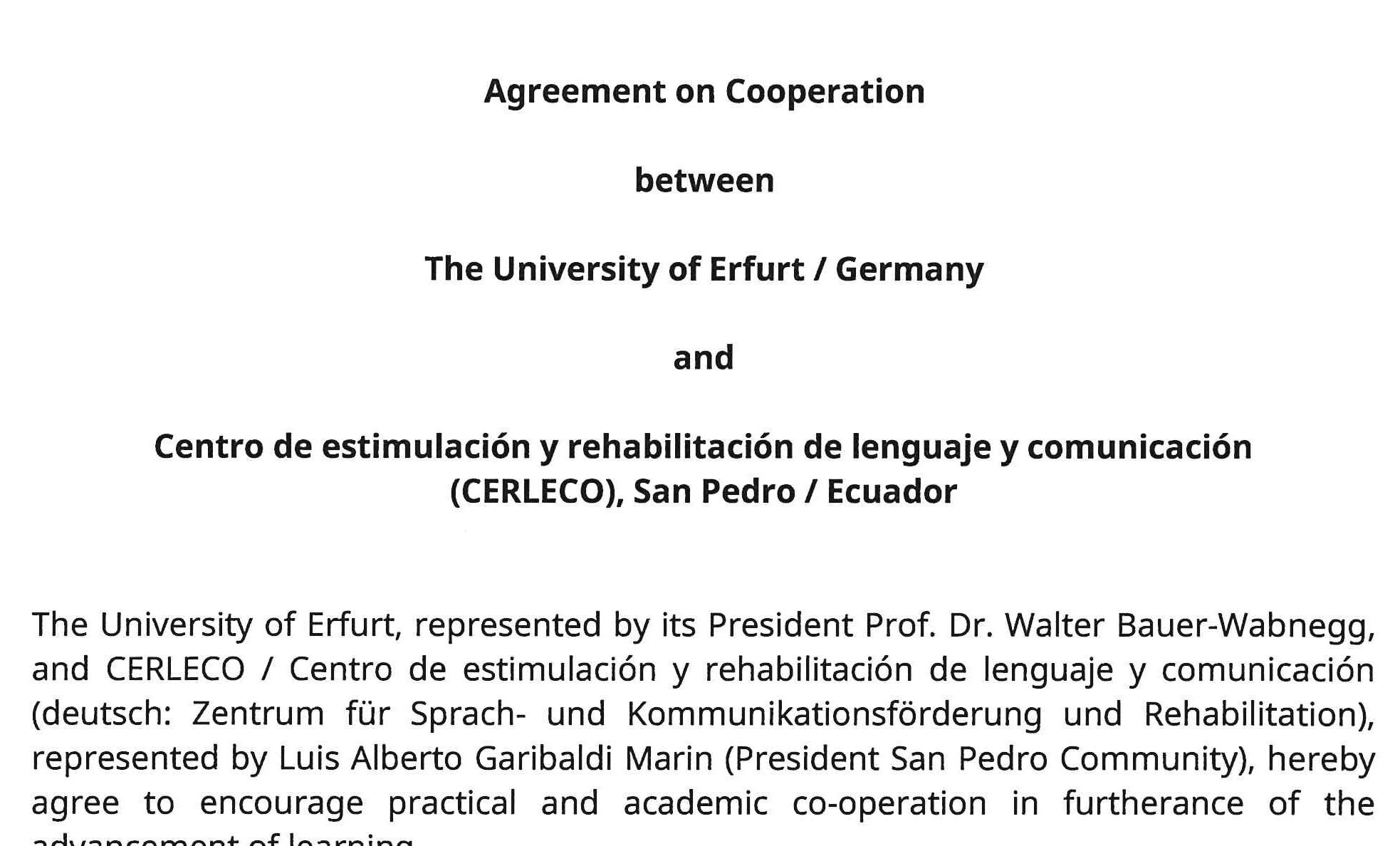 firma del contrato/Sign of contract/Vertragsunterzeichnung