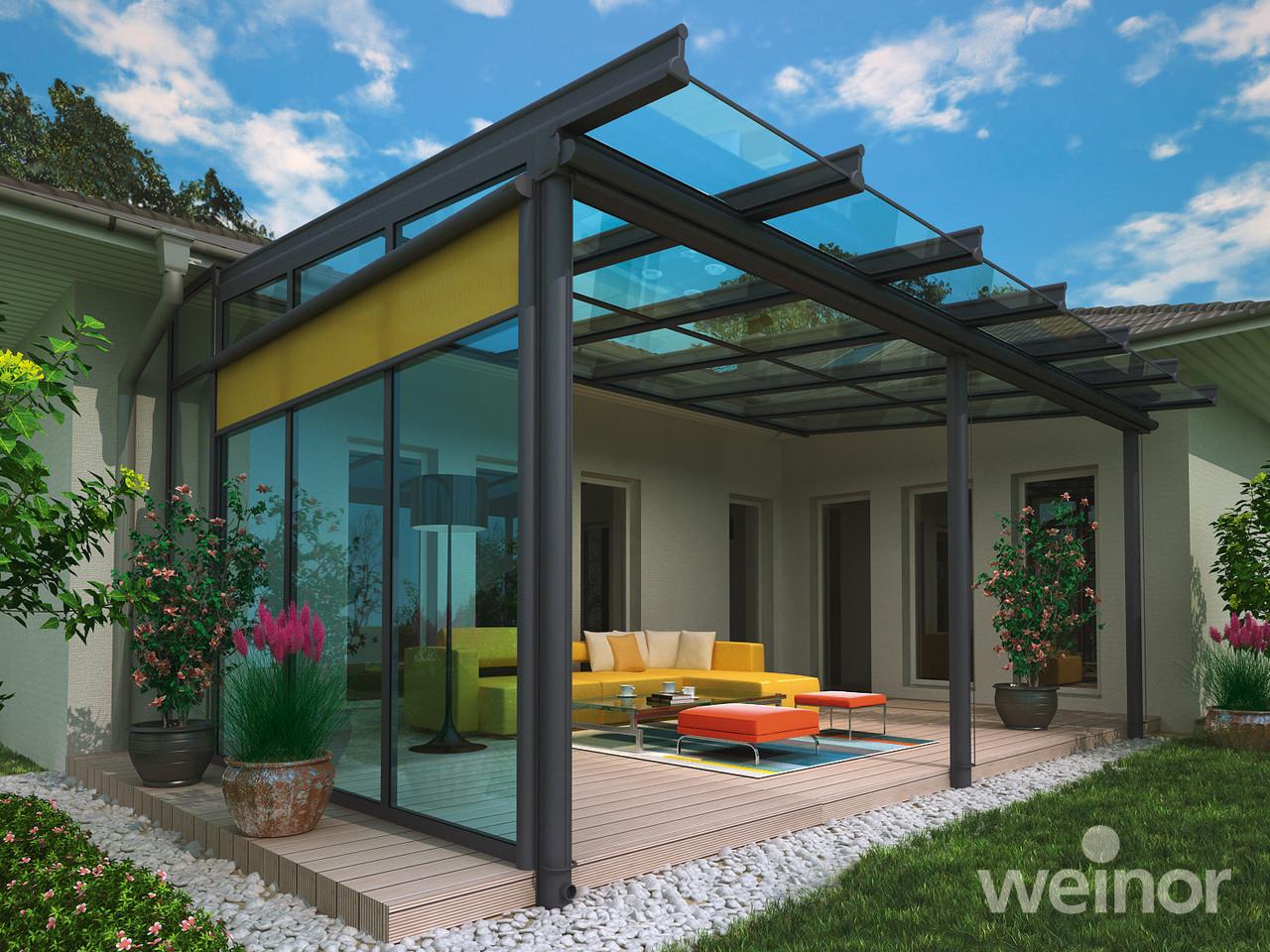 Terrassenüberdachung Glas - Weinor