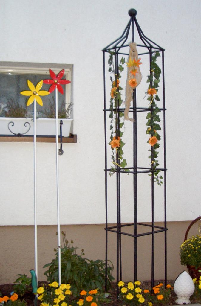 Rankgitter Blumenstab