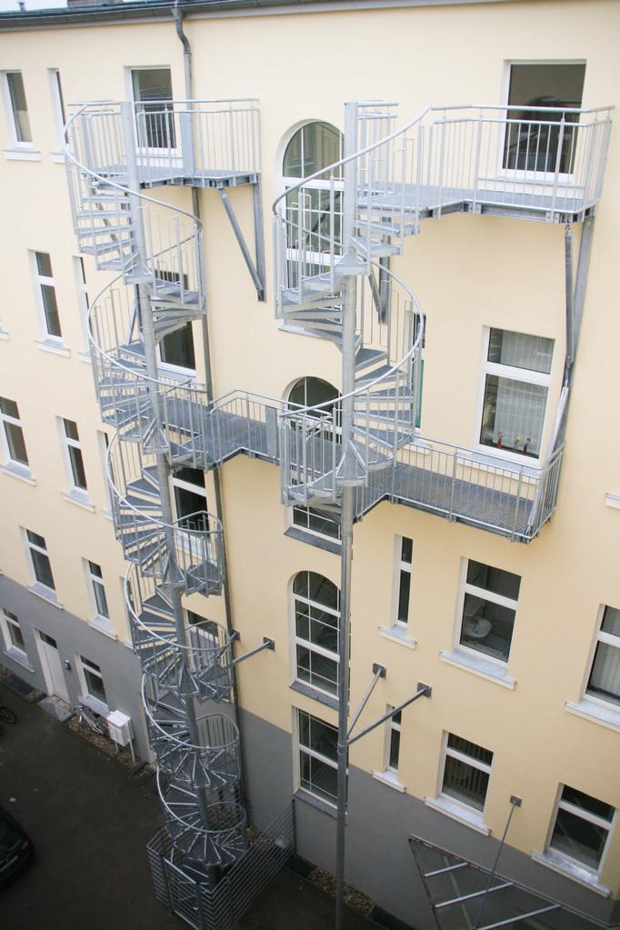 Wendeltreppe Fluchttreppe verzinkt