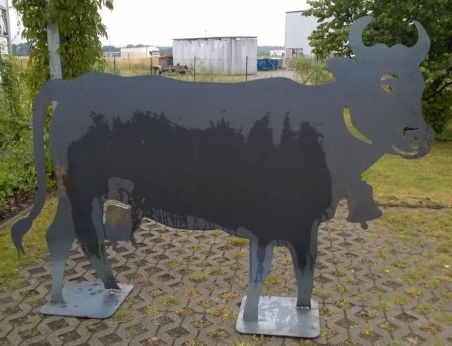 Plasmazuschnitt Kuh