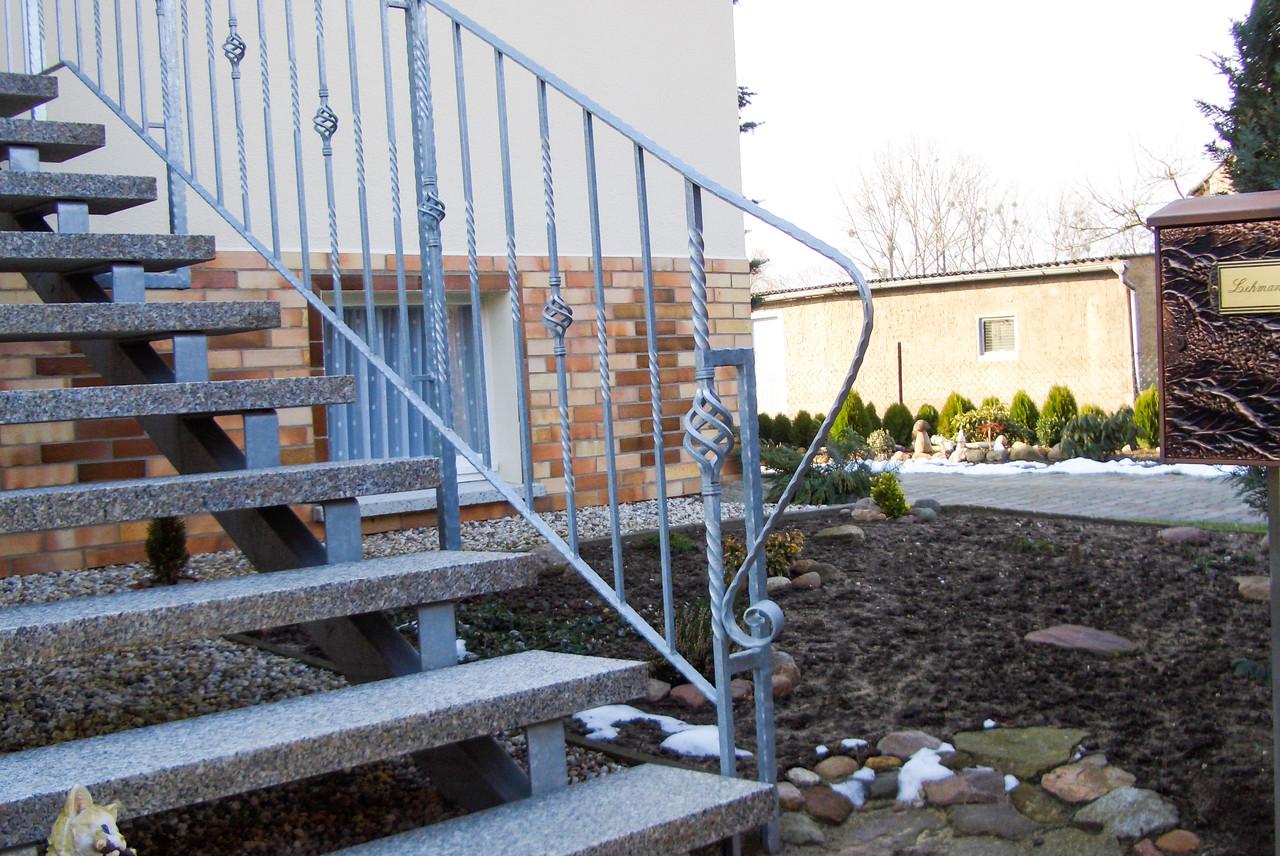 Treppengeländer verzinkt