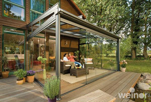 Terrasse Wintergarten Glas - Weinor