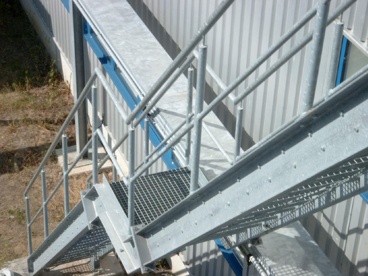 Industrietreppe verzinkt