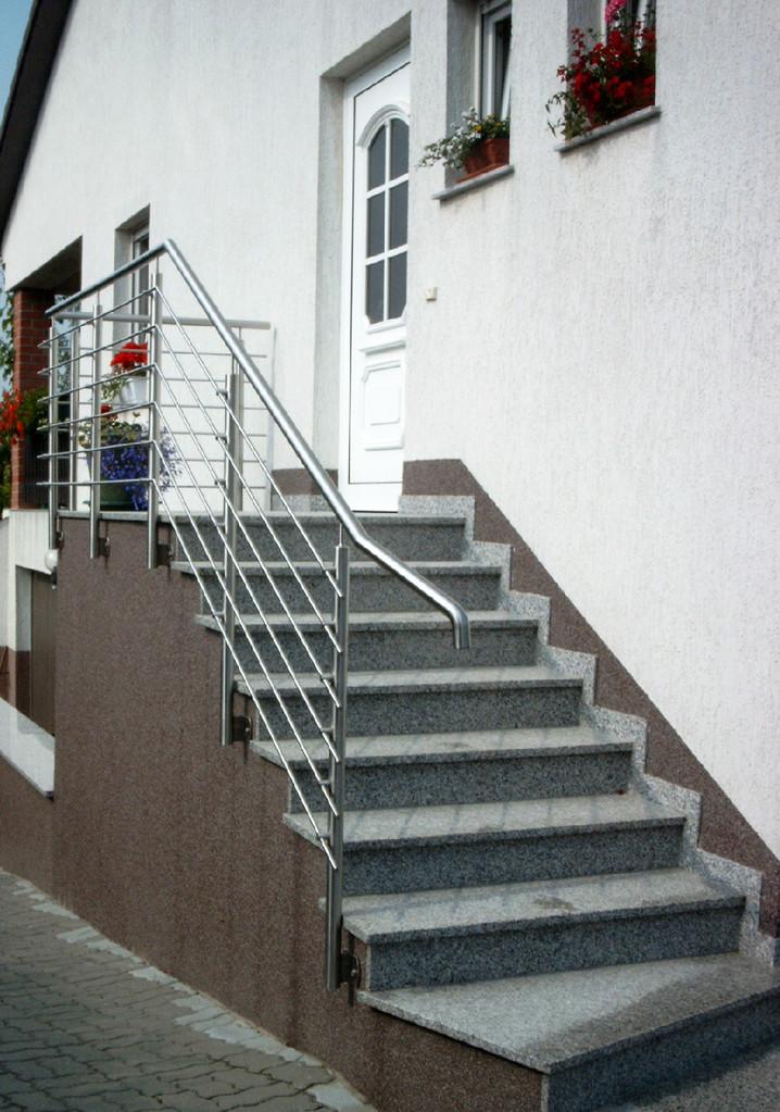 Edelstahl Treppengeländer