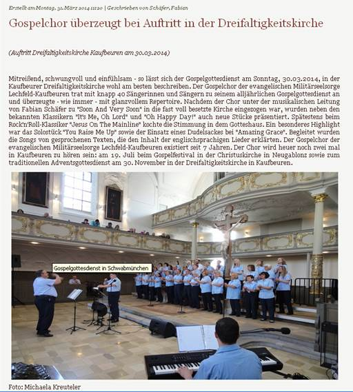 2014 - Dreifaltigkeitskirche Kaufbeuren