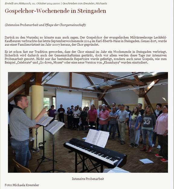 2014 - Steingaden