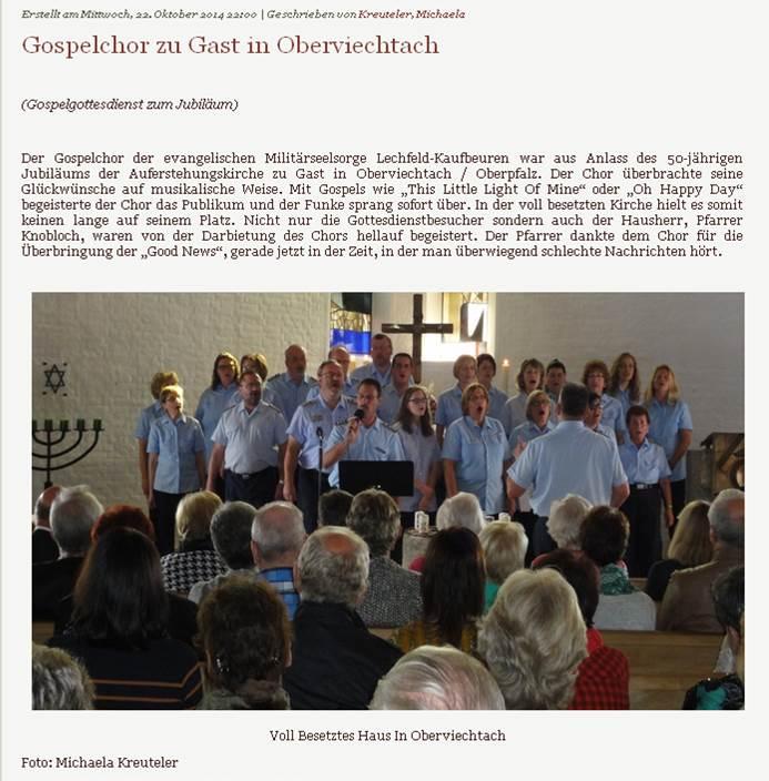 2014 - Oberviechtach