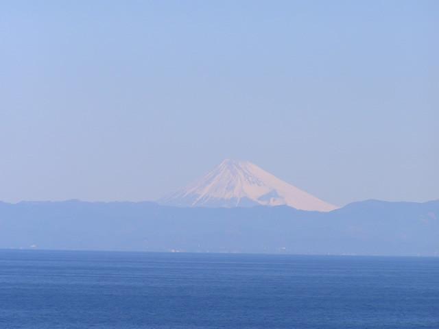 店からの風景(富士山)