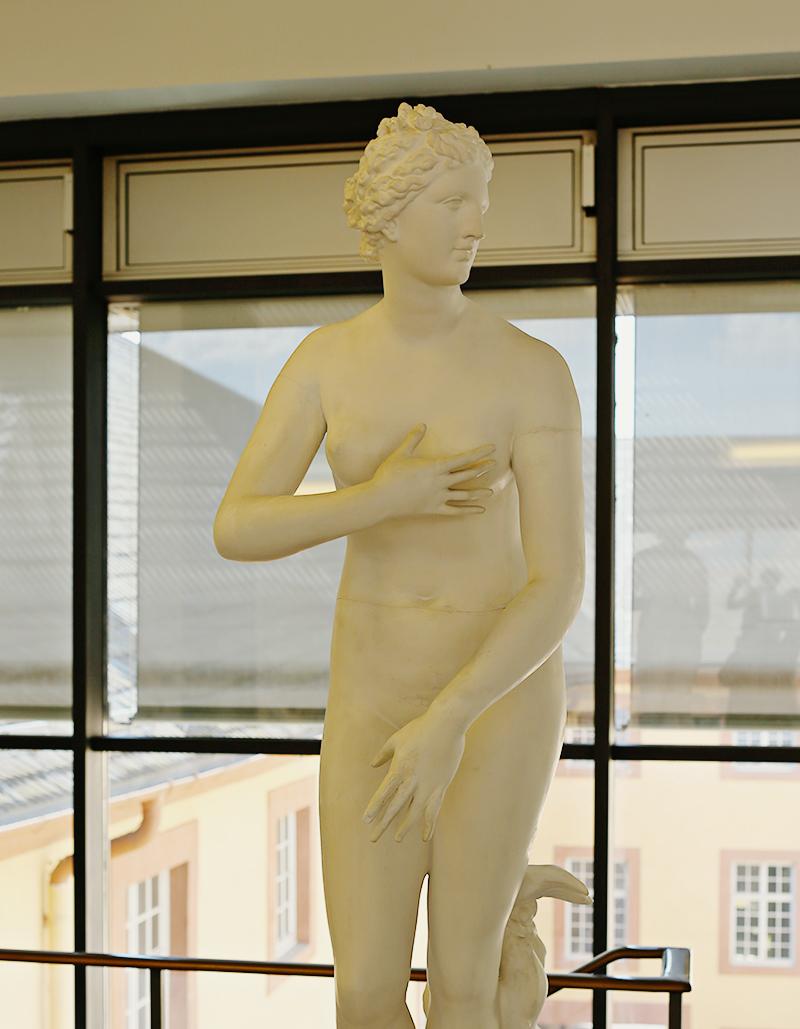 Aus den Wellen des Meeres geboren, zur Liebesgöttin auserkoren. Die Venus Medici erlangte, wie kaum eine Statue sonst, nach ihrer Wiederentdeckung im 17. Jahrhundert durch ihre Schönheit enorme Popularität.