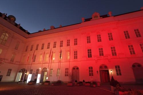 Ausweichsquartier des Österreichischen Parlaments in der Hofburg © Parlamentsdirektion / Johannes Zinner