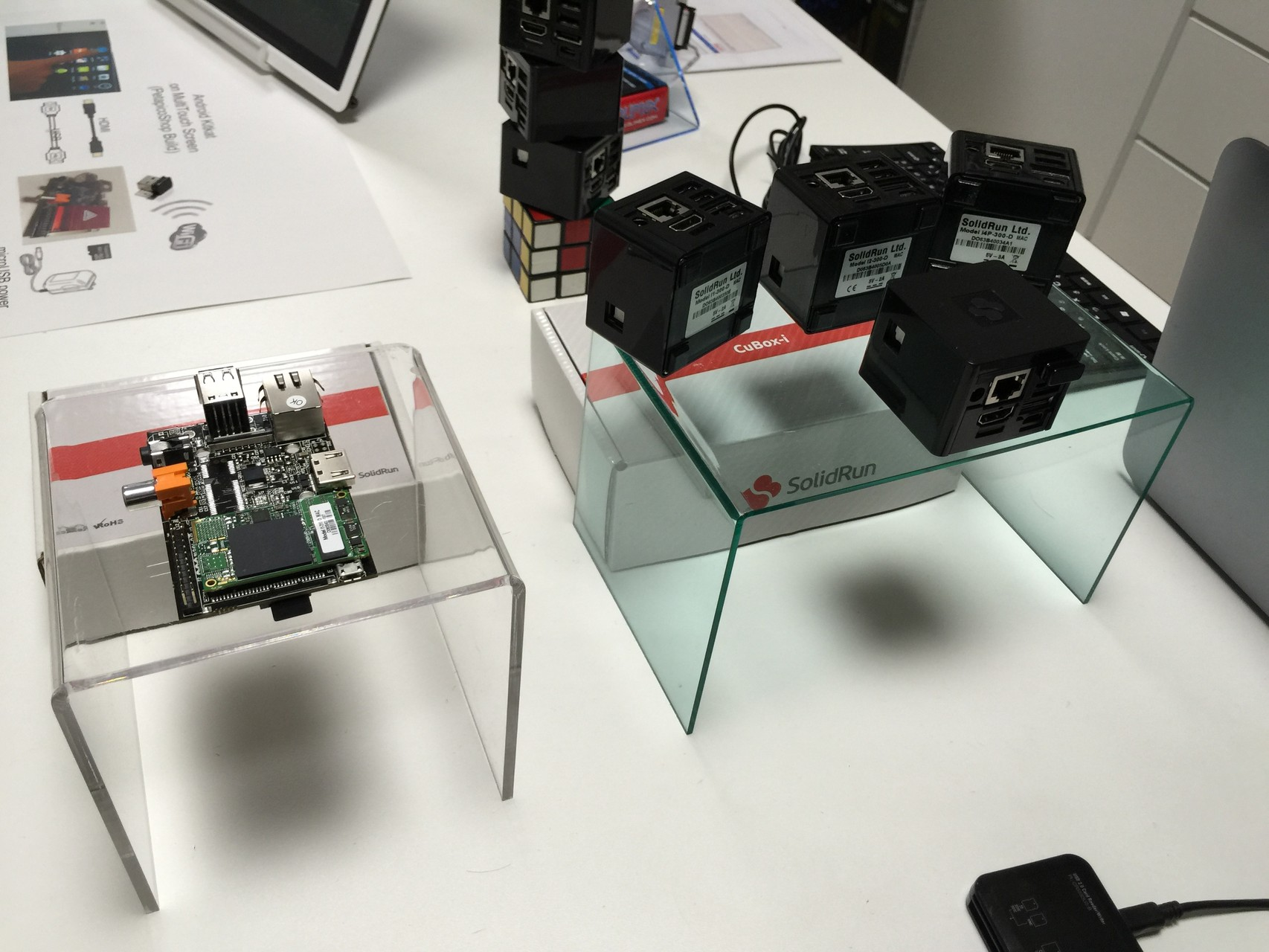 HummingBoard-i1 と新しく販売開始の実力派 CuBox-i2eX