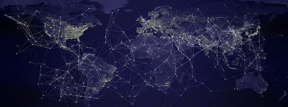 connexion des reseaux dans le monde pour demarche e-cime