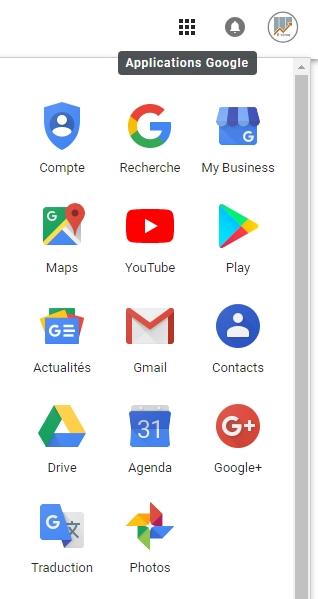 applications Google d'e-cime.fr pour créer une chaîne You Tube