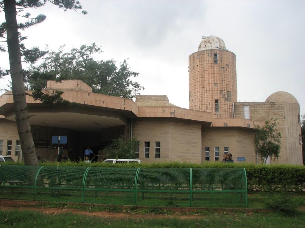 The Jawaharlal Nehru Planetarium