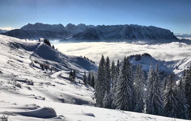 Etappe 9: Sachrang - Karspitze - Wandberg