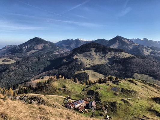 Etappe 5: Nussdorf - Pasteralm - Erl