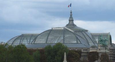 Verrière en acier du Grand Palais, restaurée en 2004