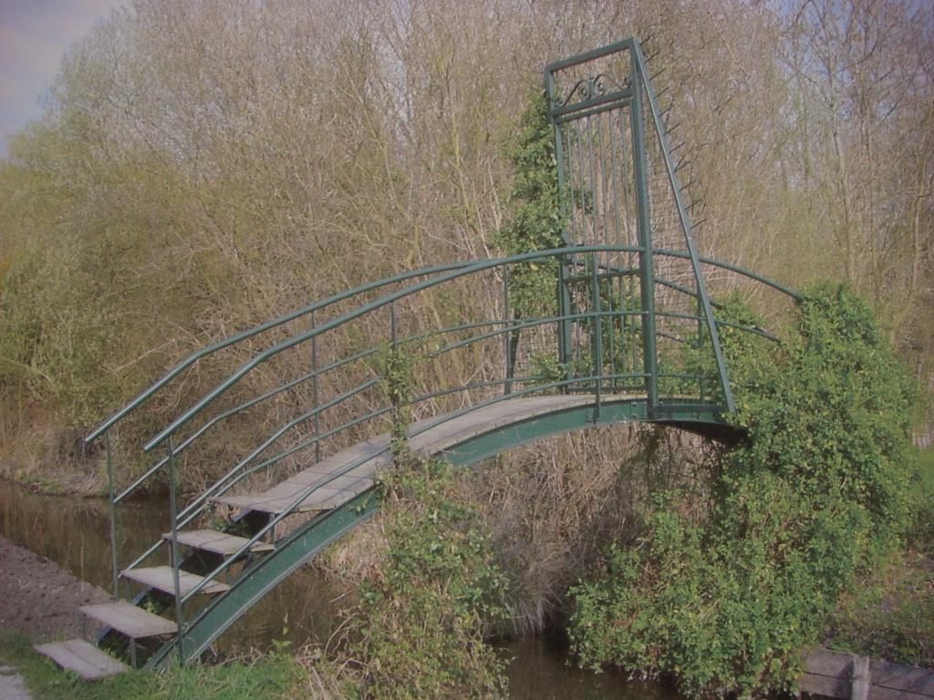 Passerelle d'accès Hortillonages d'Amiens