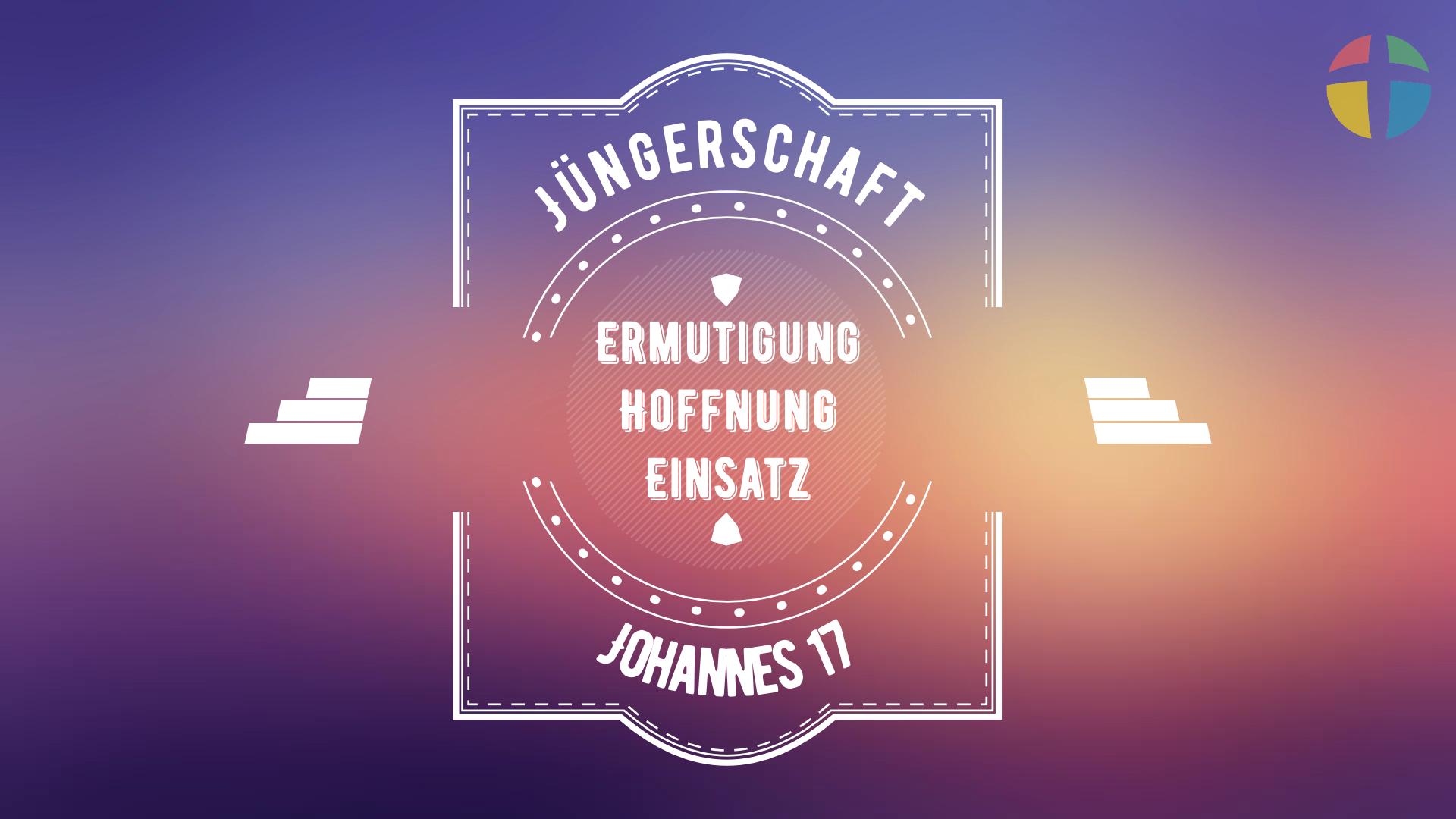 Predigtreihe: Jüngerschaft #4