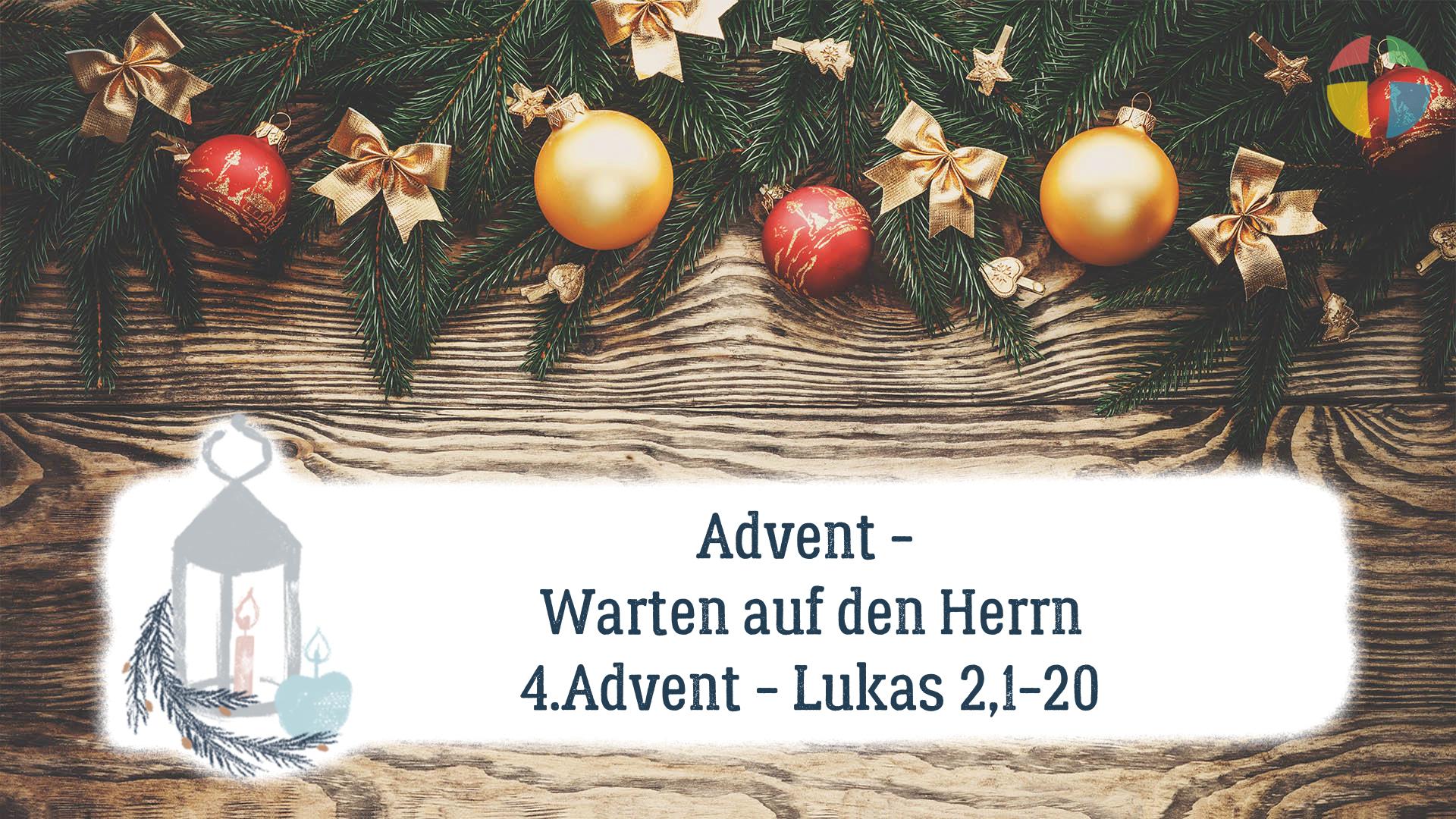 Warten auf den Herrn - 4. Advent