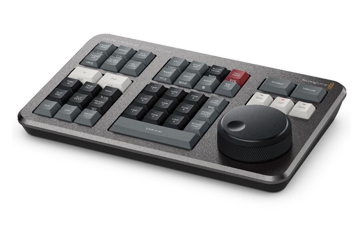 Blackmagic DaVinci Resolve Speed Editor