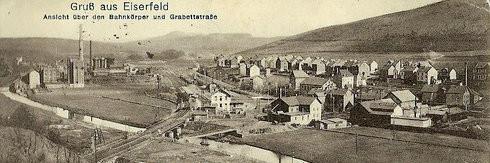 Bahnhof Eiserfeld, vom Niederscheldener Tunnel aus in Richtung Siegen aufgenommen