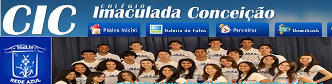 Site do Colégio Imaculada Conceição de Cáceres MT
