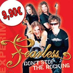"das aktuelle Album ""Dont Stop the Rocking"" für 9,90€"